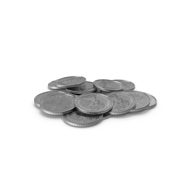 Coin: 5p UK PNG & PSD Images