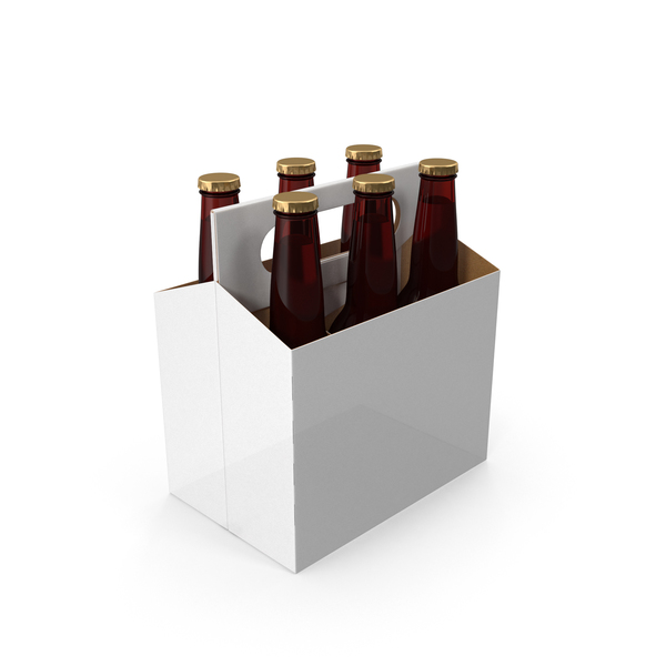 6-Pack Bottle Holder PNG & PSD Images