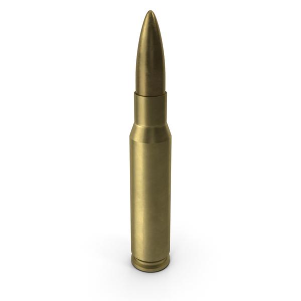 7.62х51 NATO Cartridge PNG & PSD Images
