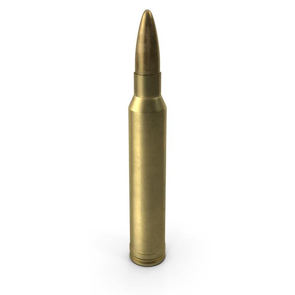7.62х67 (.300) Winchester Magnum Cartridge PNG & PSD Images
