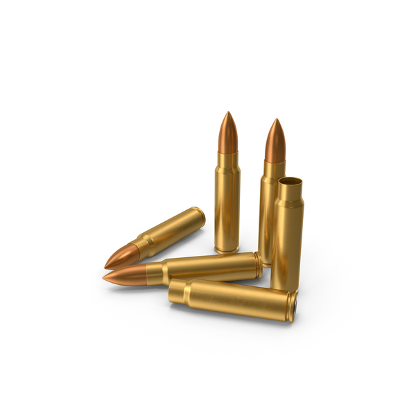 7.62x39 Cartridge: 7.62 × 39 mm Cartridges PNG & PSD Images