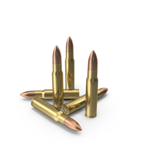 7.62x39 Cartridge: 7.62 × 39 mm Cartridges PNG & PSD Images