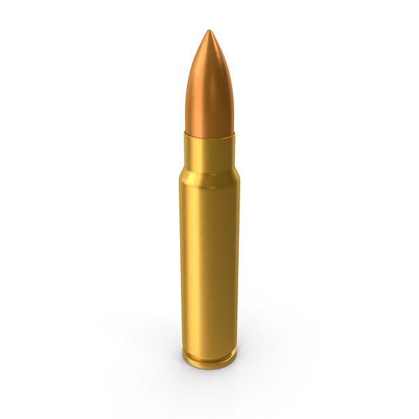 7.62×39mm Cartridge PNG & PSD Images