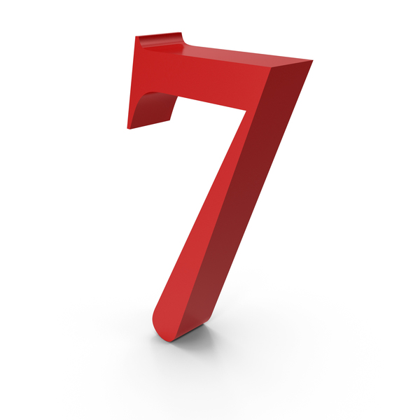 Number: 7 PNG & PSD Images