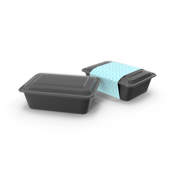 Plastic Food Container: 700ml Meal Prep Containers PNG & PSD Images