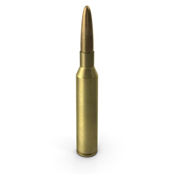8.6х70 (.338) Lapua Magnum Cartridge PNG & PSD Images