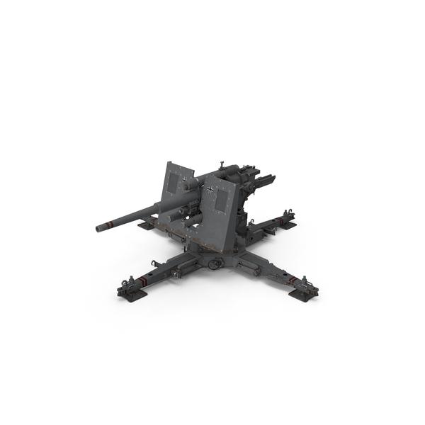 8.8 CM Flak Cannon PNG & PSD Images