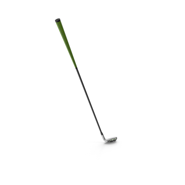 9 Iron Golf Club Object