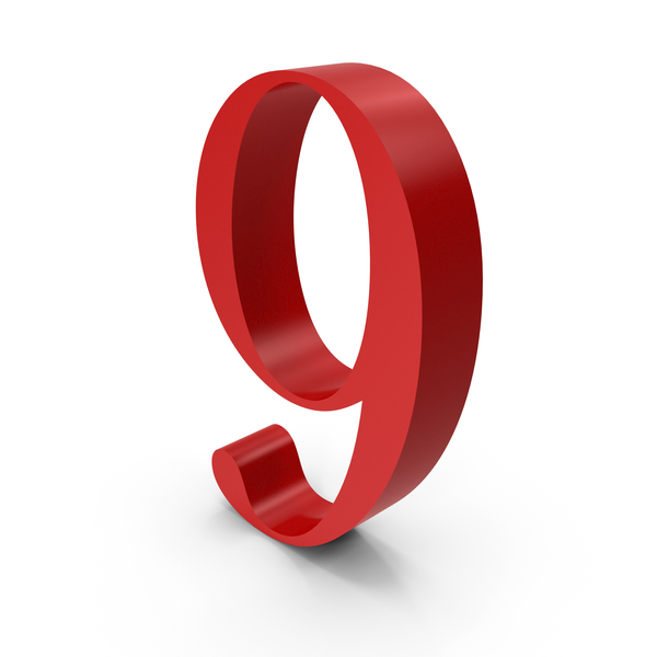 Number: 9 PNG & PSD Images