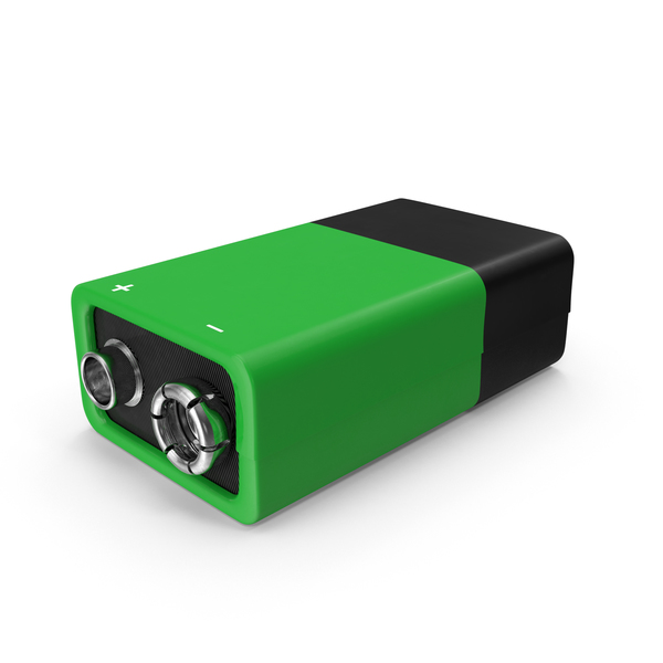 9V Battery PNG & PSD Images