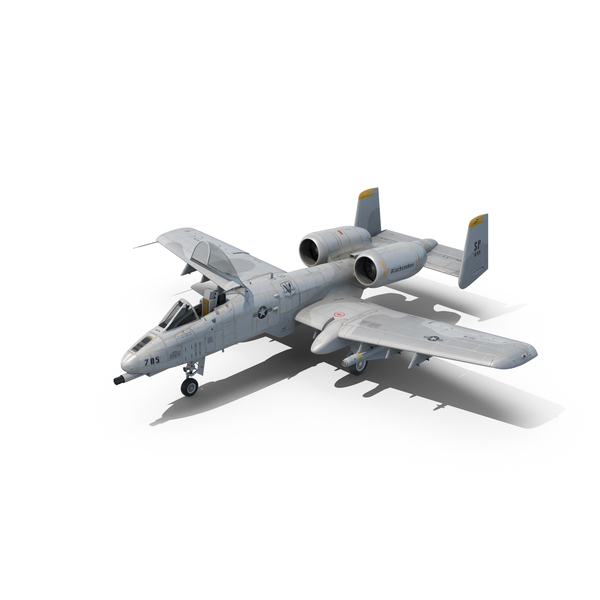Fighter Jet: A-10 Thunderbolt II Object