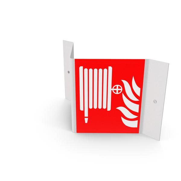 A Frame Fire Hose Reel Signage PNG & PSD Images