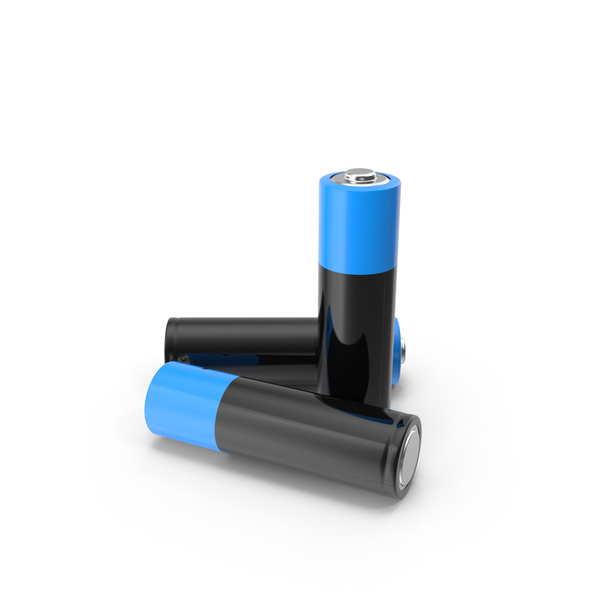 AA Battery Group PNG & PSD Images