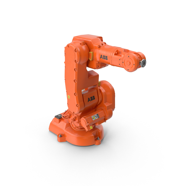 ABB IRB 140 Industrial Robot Arm PNG & PSD Images