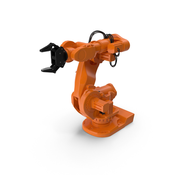 ABB IRB 7600 Industrial Robot PNG & PSD Images