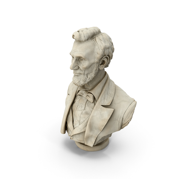 Abraham Lincoln Bust PNG & PSD Images