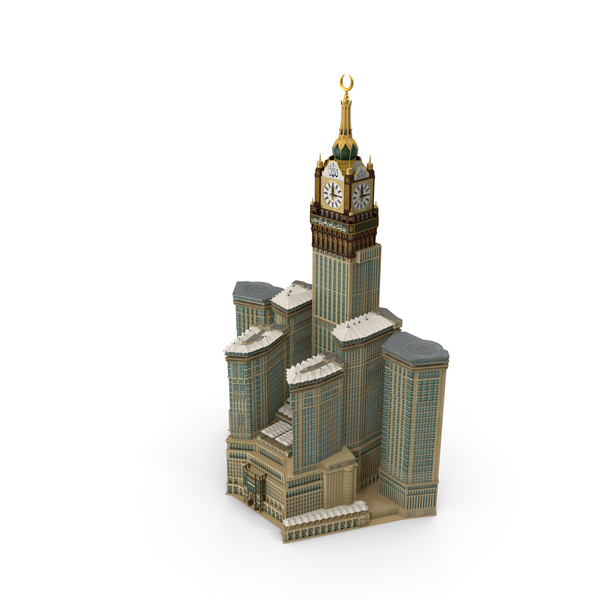 Skyscraper: Abraj Al Bait PNG & PSD Images