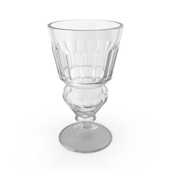 Absinthe Pontarlier Reservoir Glass Empty PNG & PSD Images