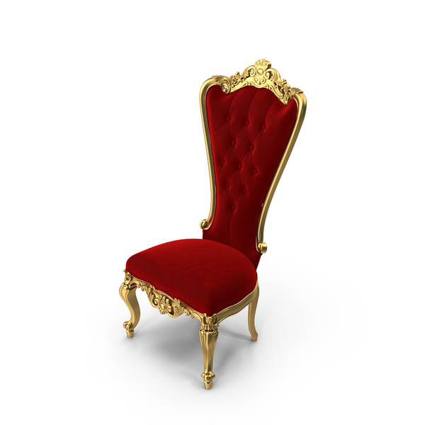 Absolom Roche  Baroque Side Dining Chair PNG & PSD Images