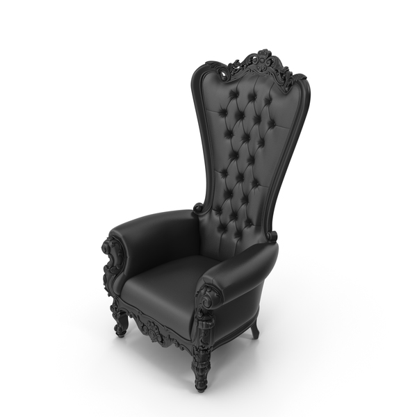 Absolom Roche Leather Arm Chair PNG & PSD Images