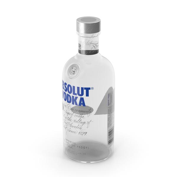 Absolut Classic Vodka Bottle PNG & PSD Images