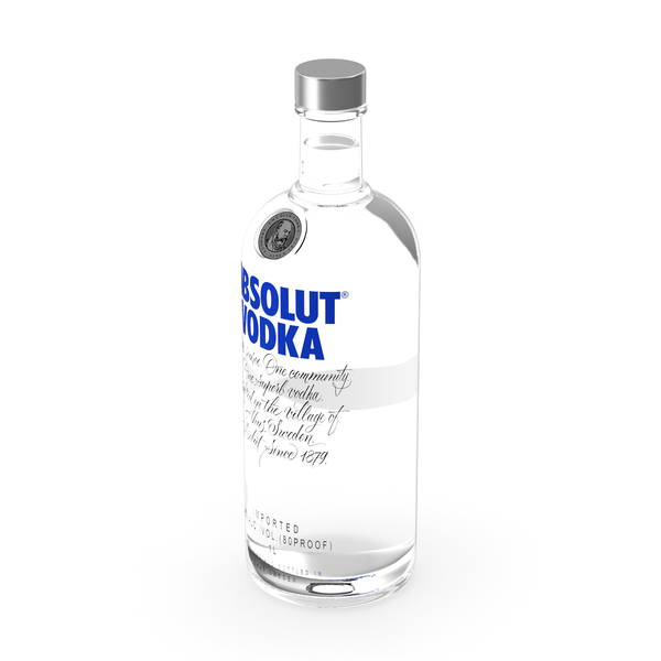 Absolut Vodka Original 1L PNG & PSD Images