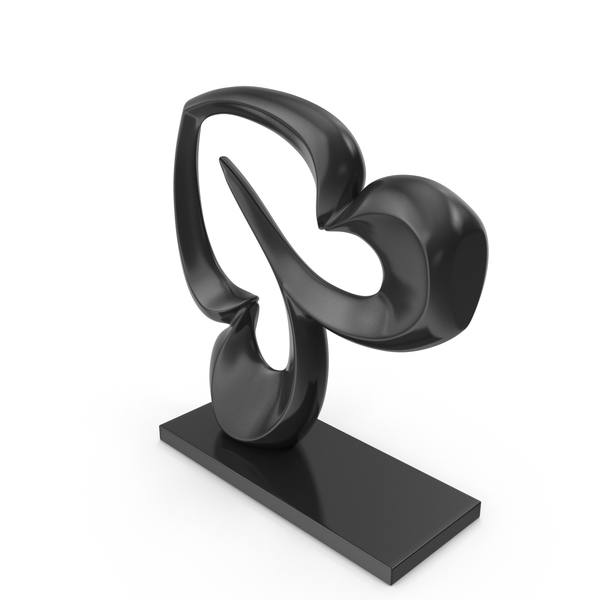 Sculpture: Abstract Figure Black PNG & PSD Images