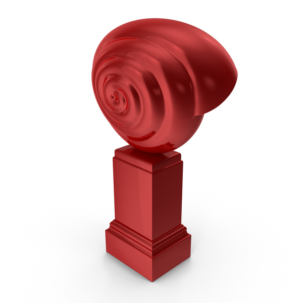 Sculpture: Abstract Figure Red PNG & PSD Images