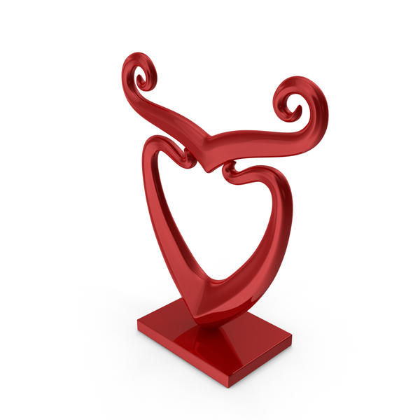 Sculpture: Abstract Figure PNG & PSD Images