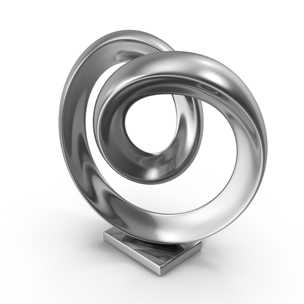 Sculpture: Abstract Figure Steel PNG & PSD Images