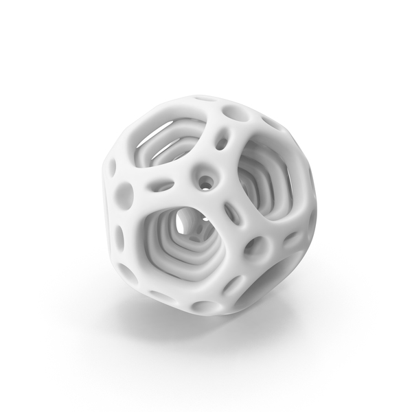 Abstract Nested Dodecahedron PNG & PSD Images