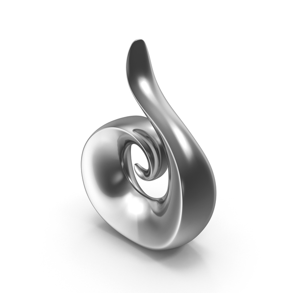 Sculpture: Abstract Steel Figure PNG & PSD Images