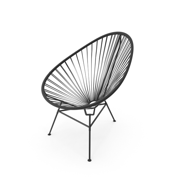 Acapulco Outdoor Chair PNG & PSD Images