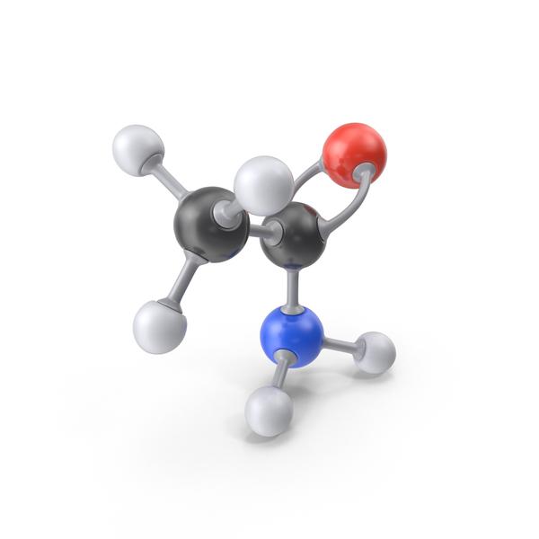 Acetamide Molecule PNG & PSD Images