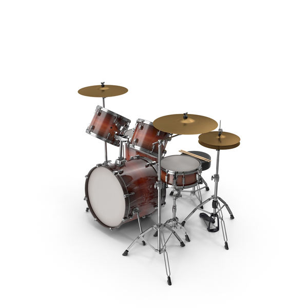 Acoustic Drum Kit PNG & PSD Images