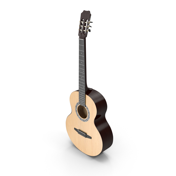 Acoustic Guitar Object