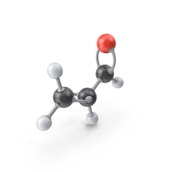 Acrolein Molecule PNG & PSD Images