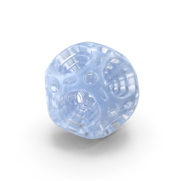 Acrylic Abstract Nested Dodecahedron PNG & PSD Images