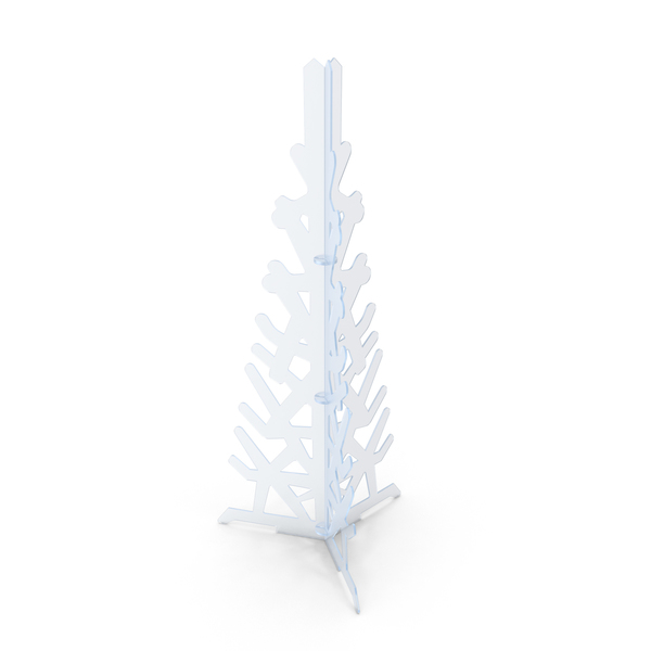 Acrylic Decorative Christmas Tree PNG & PSD Images