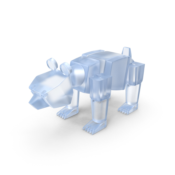 Teddy: Acrylic Toy Bear PNG & PSD Images