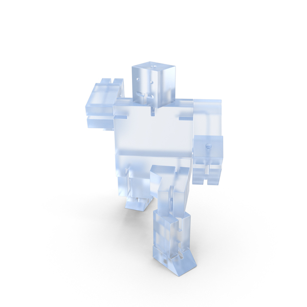 Acrylic Toy Robot PNG & PSD Images