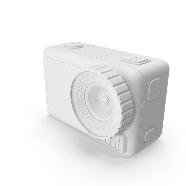 Action Camera White PNG & PSD Images