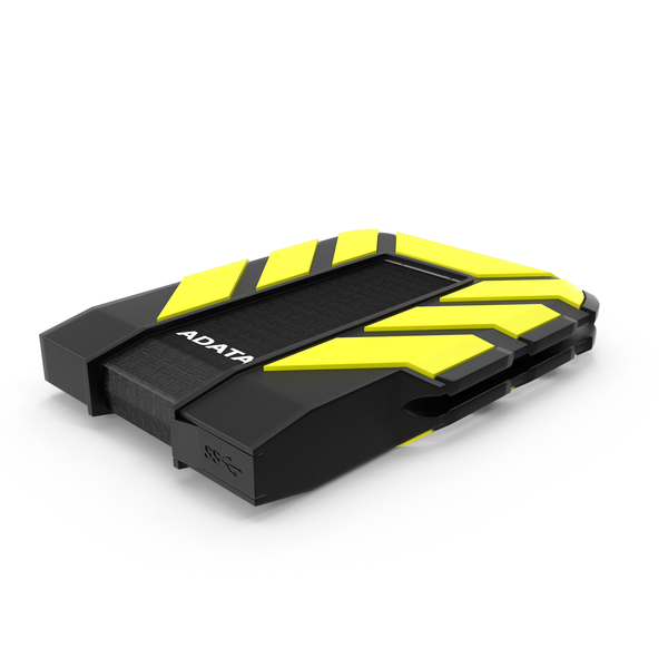 ADATA HD710 External Hard Drive PNG & PSD Images