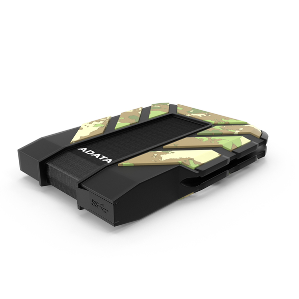 ADATA HD710M External Hard Drive PNG & PSD Images