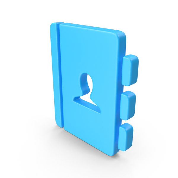 Computer: Address-Book Web Icon PNG & PSD Images