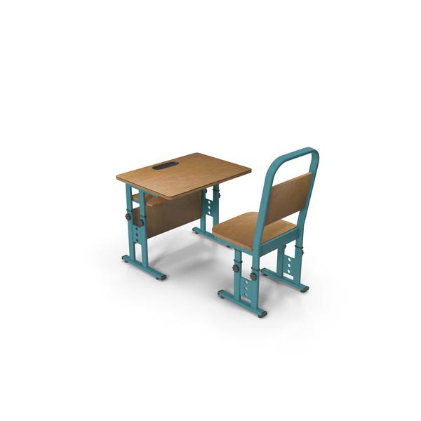 Adjustable School Desk PNG & PSD Images