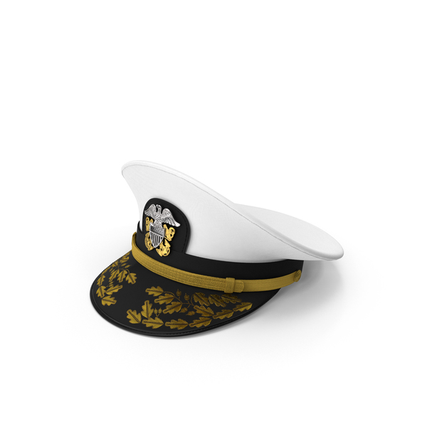 Military Uniform: Admiral Combination Hat PNG & PSD Images