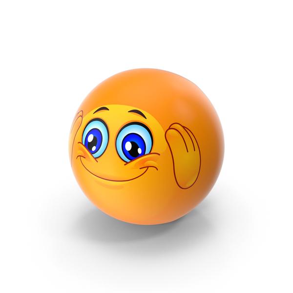 Adoring Emoji PNG & PSD Images