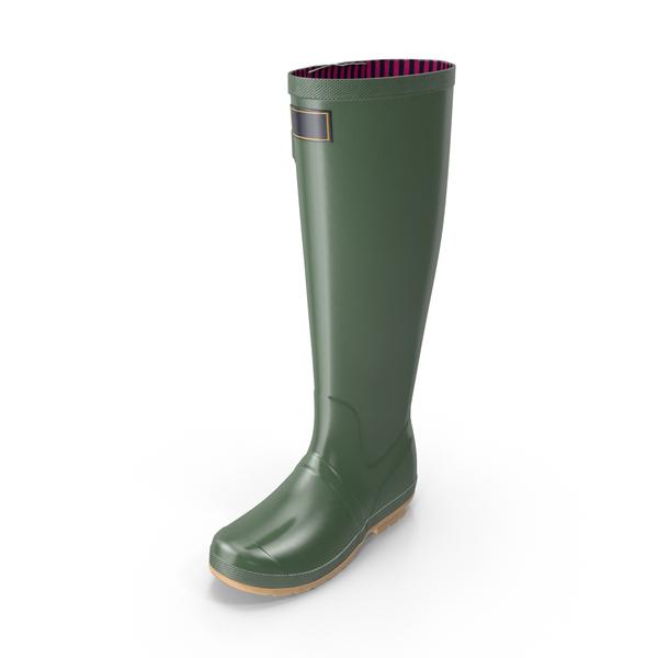Adult Rain Boots PNG & PSD Images