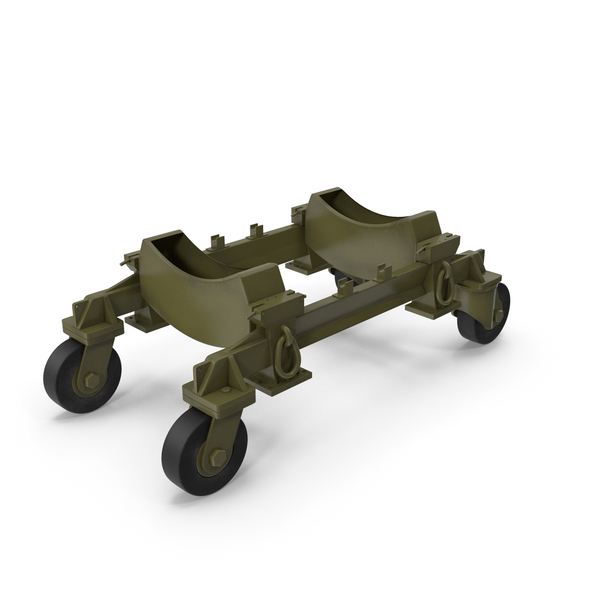 Cart: Aerial Bomb Carriage PNG & PSD Images